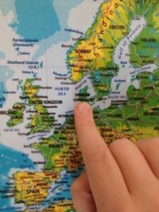 denmark map3