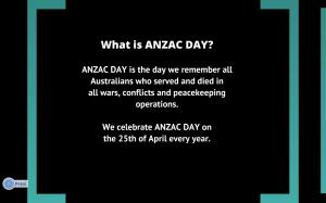 Oliver's Prezi about Anzac Day